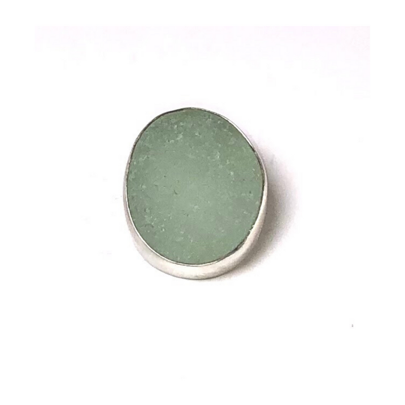 Sea Foam Green Glass Pendant