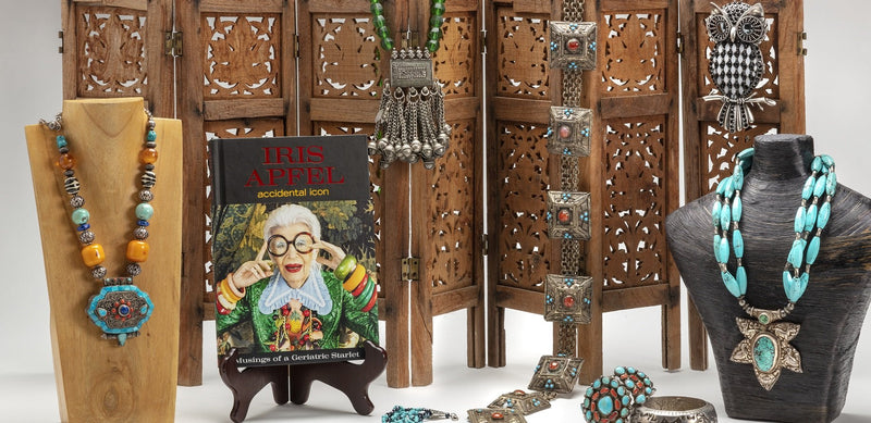 Iris Apfel Exclusive: Tibetan Box Necklace