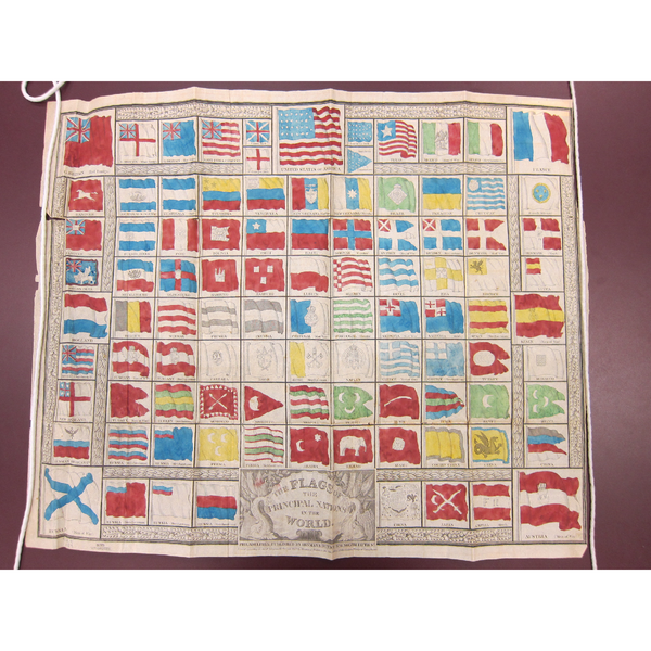 PEM Collection Masks: 1837 Flags of the Nations