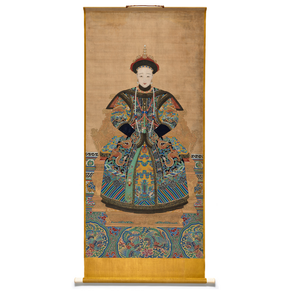 PEM Collection Masks: Portrait of Empress Xiaomu Cheng