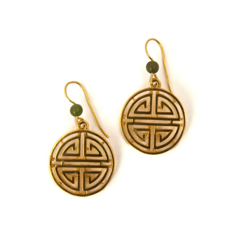 Shou Symbol Earrings
