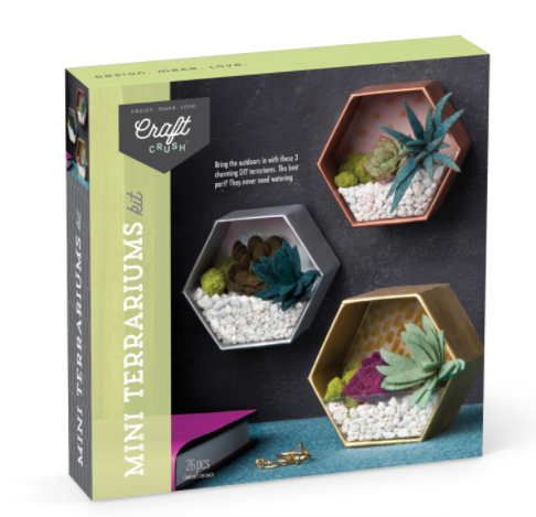 Mini Terrariums Kit Kit