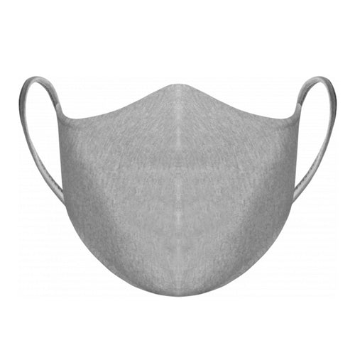 Reusable Double Layer Fabric Face Mask, grey
