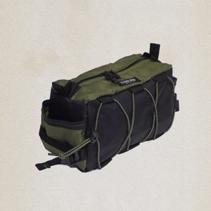 olive and black bar caddy bag