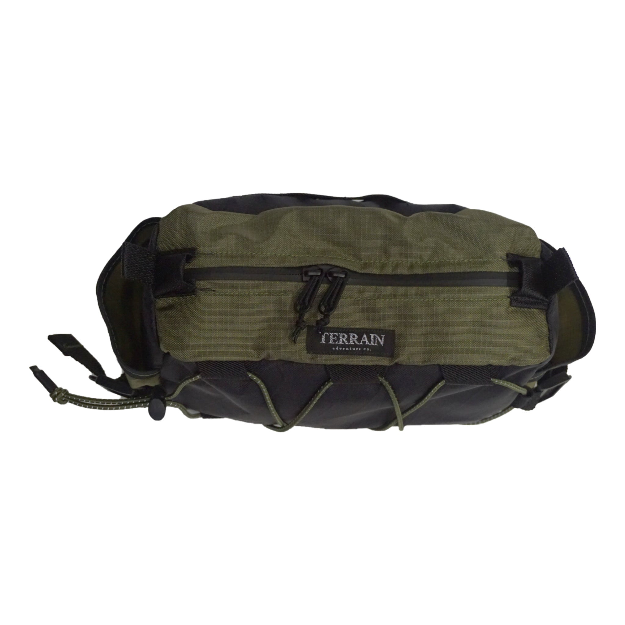 olive and black bar caddy bag 3/4