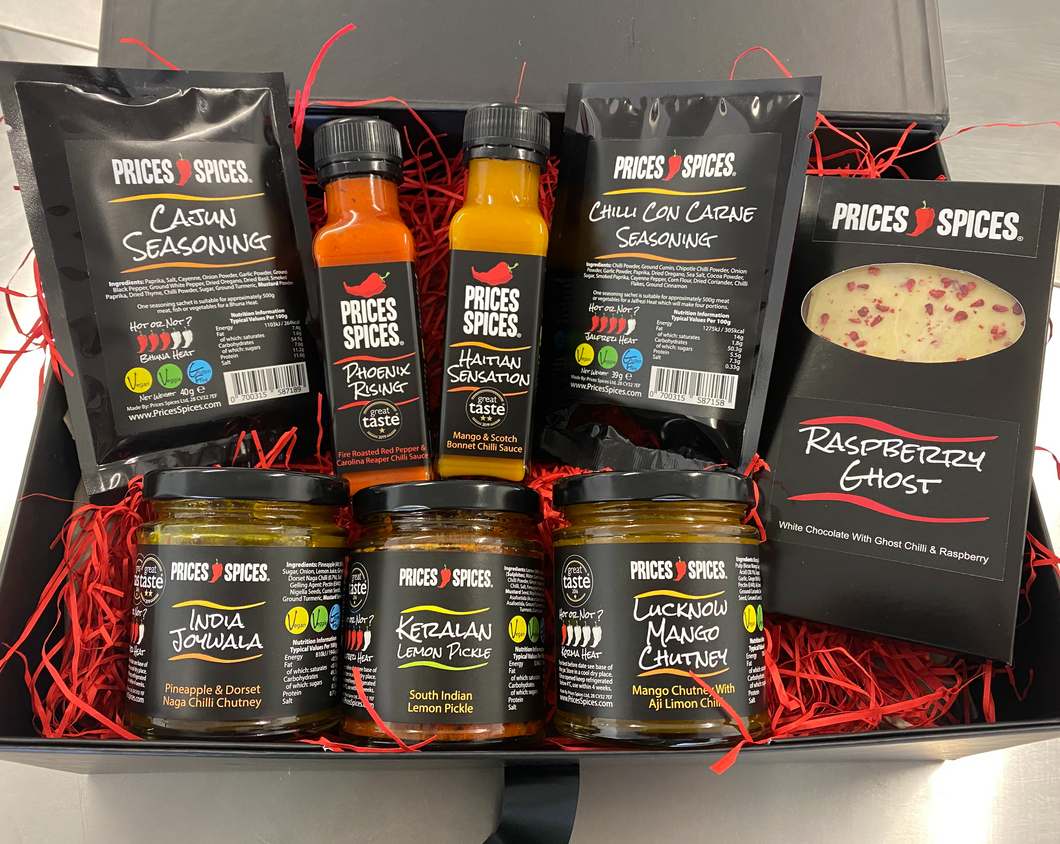 Chilli gift set made with Warwickshire grown chillies