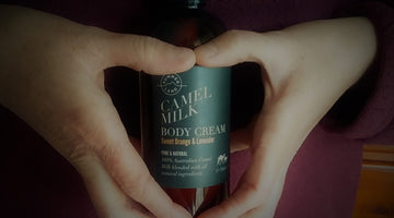 Camel Milk Natural Skincare Relieves Sore, Dry Hands and Eczema