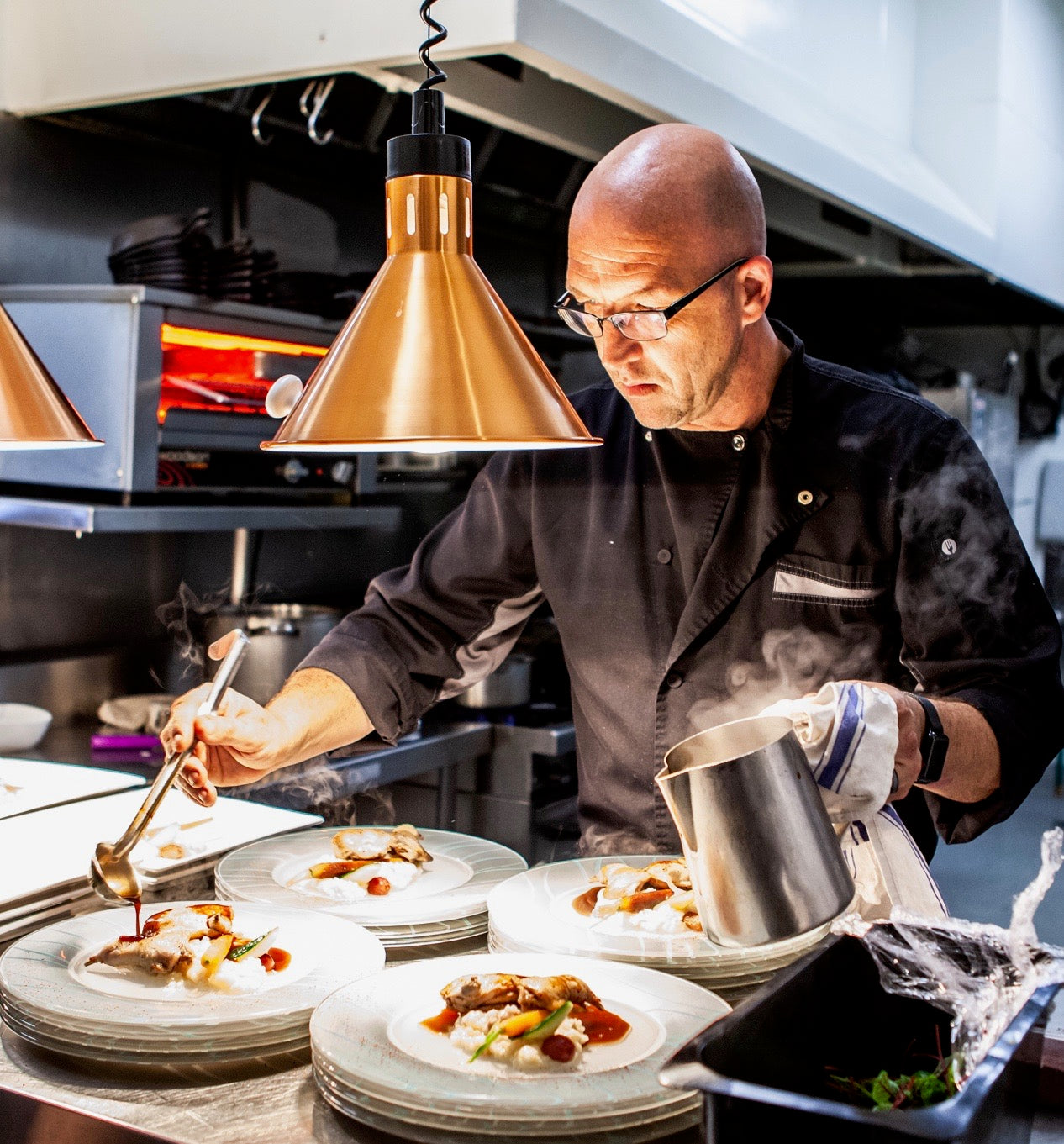 Peter Roelfes, Chef and Restaurateur