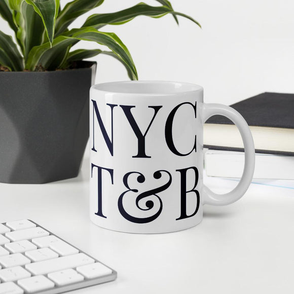 New York Tech & Beer White Mug