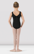 Load image into Gallery viewer, Girls Gathered Front/Back Tank Leotard