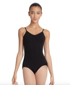 V-Neck Camisole Leotard - Adult
