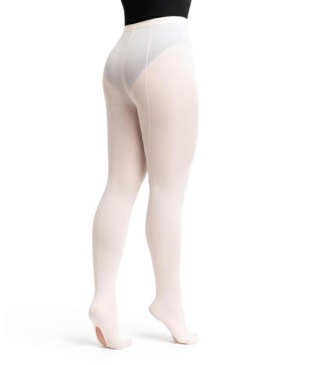 Professional Mesh Transition Tight with Seams - Style #9 by Capezio