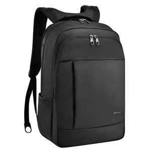 Deluxe Black Water Resistant Laptop Backpack