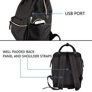 Laptop Backpack - 15.6 Inch - Black