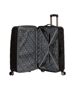 Hardside Expandable Spinner Wheel Luggage - 2 Piece - Black