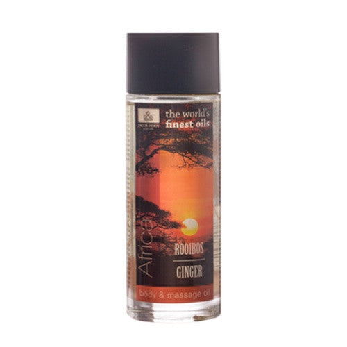 Afrika Rooibos/Ginger Huid & Massage Olie 100 ml - Jacob Hooy