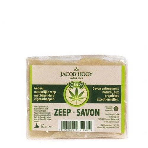 CBD Zeep 120 ml - Jacob Hooy
