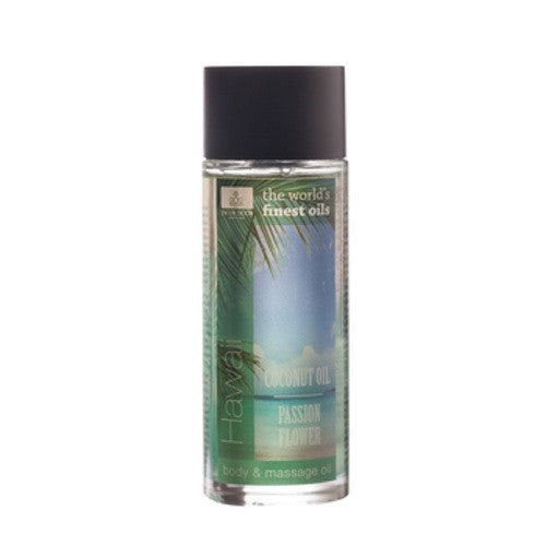 Hawaii Coconut/Passion Flower Huid & Massage Olie 100 ml - Jacob Hooy