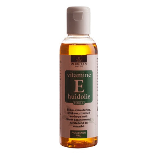 Vitaminen E Huidolie 150 ml - Jacob Hooy