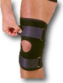 Adjustable Neoprene Knee Stabilizer w/Straps