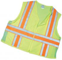 ANSI Class 2 Deluxe Dot Mesh With Pockets