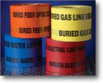 Non-Detectable Underground Marking Tape
