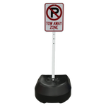 Load image into Gallery viewer, Rock-It Portable Post Sign Stand