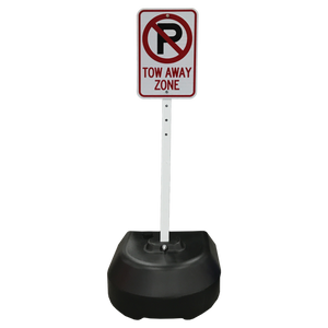 Rock-It Portable Post Sign Stand