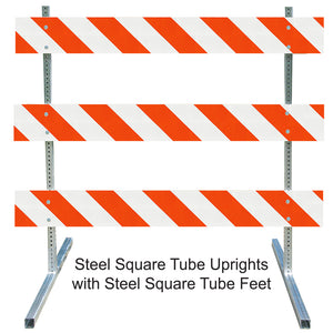 Steel Square Tube Type III Barricade
