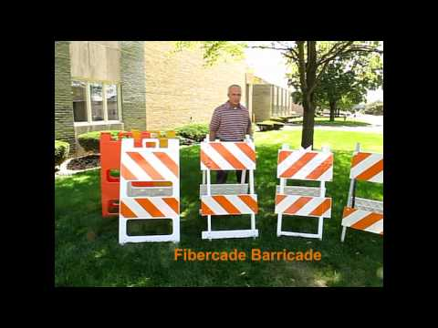 Plasticade® Type I and II Barricade