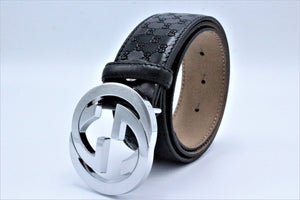 Gg Design Leather (Small) And Gg Design Buckle