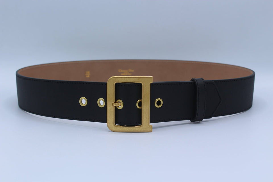 Black Leather Amazing Belt