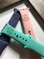 Monogram Engrave Watch Bands