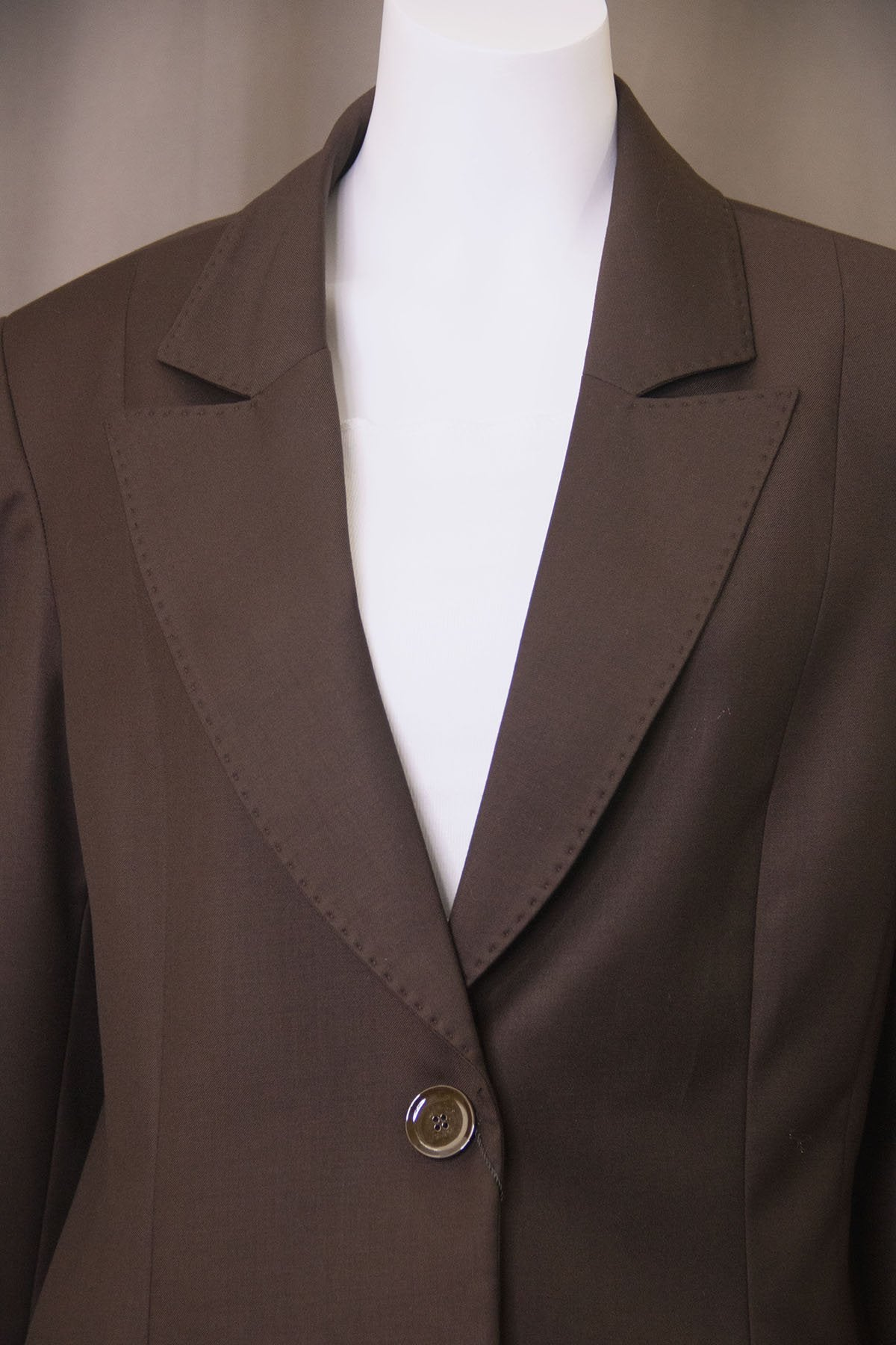 LADIES BROWN SUIT BUTIK DAYI TURKEY