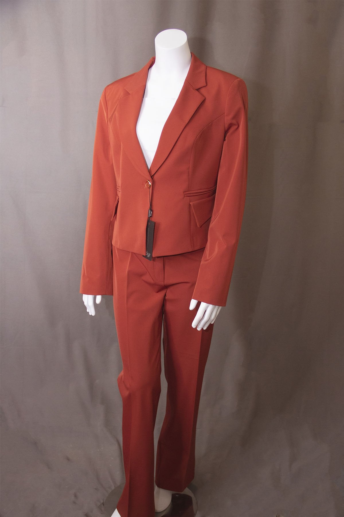 LADIES SUIT RED BUTIK DAYI TURKEY