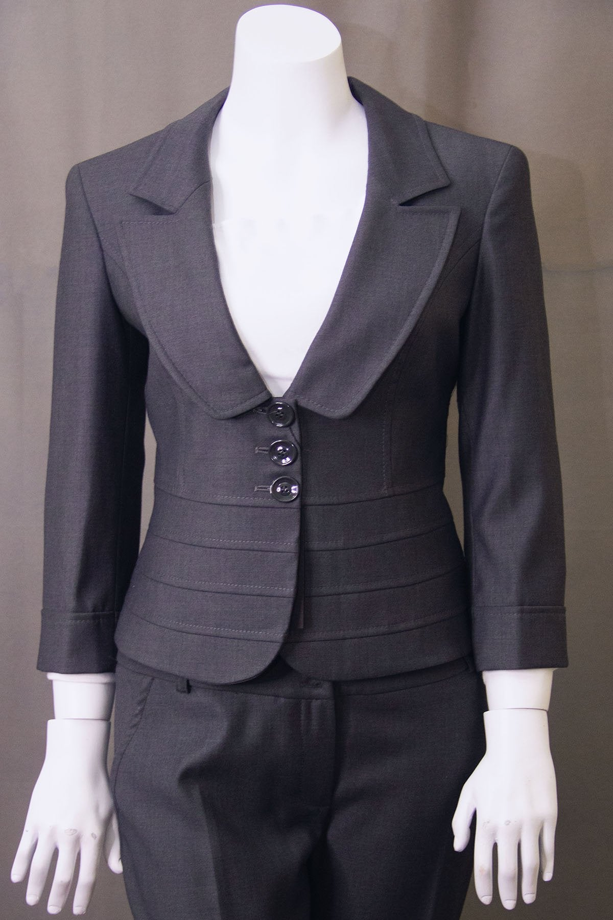 LADIES SUIT GREY BUTIK DAYI TURKEY