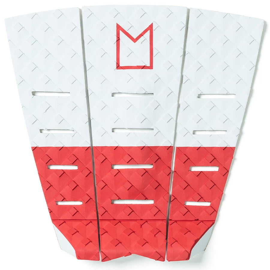 Modom Taj Burrow Signature Surfboard Traction Tailpad - Honest Red