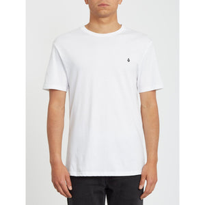 Volcom Stone Blanks Organic Cotton Tee - White