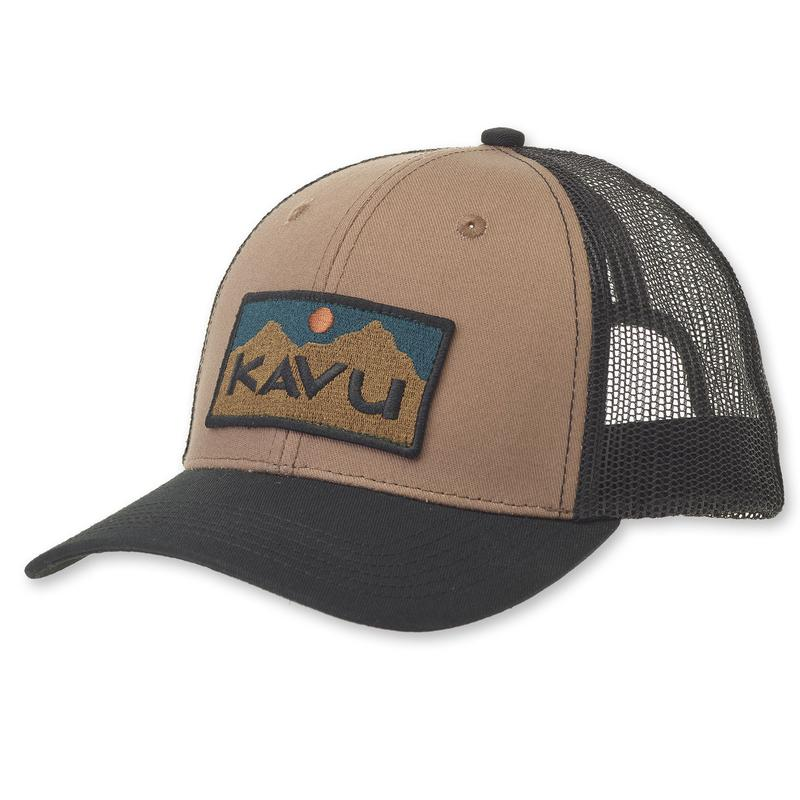 Kavu Above Standard Mesh Back Cap - Earth Terrain