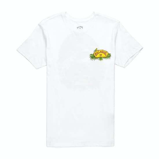 Billabong Billys Point Mens T-Shirt White