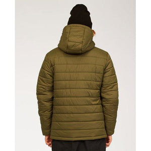 Billabong Adventure Division Journey Puffer Jacket - Military Green