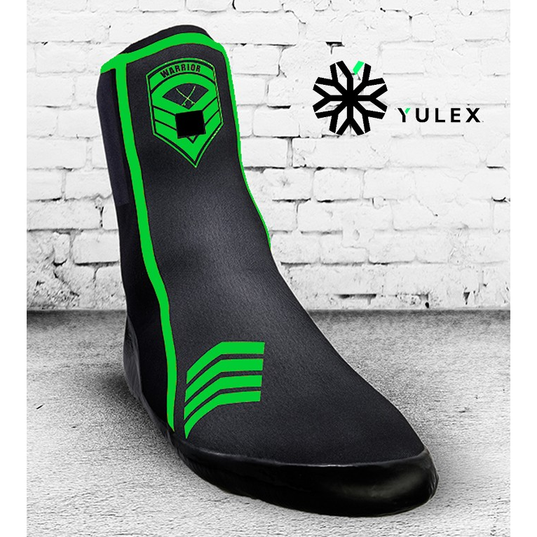 Wetty Wetsuit Surf Boots Eco Friendly YULEX Polar Warrior 4mm - Green