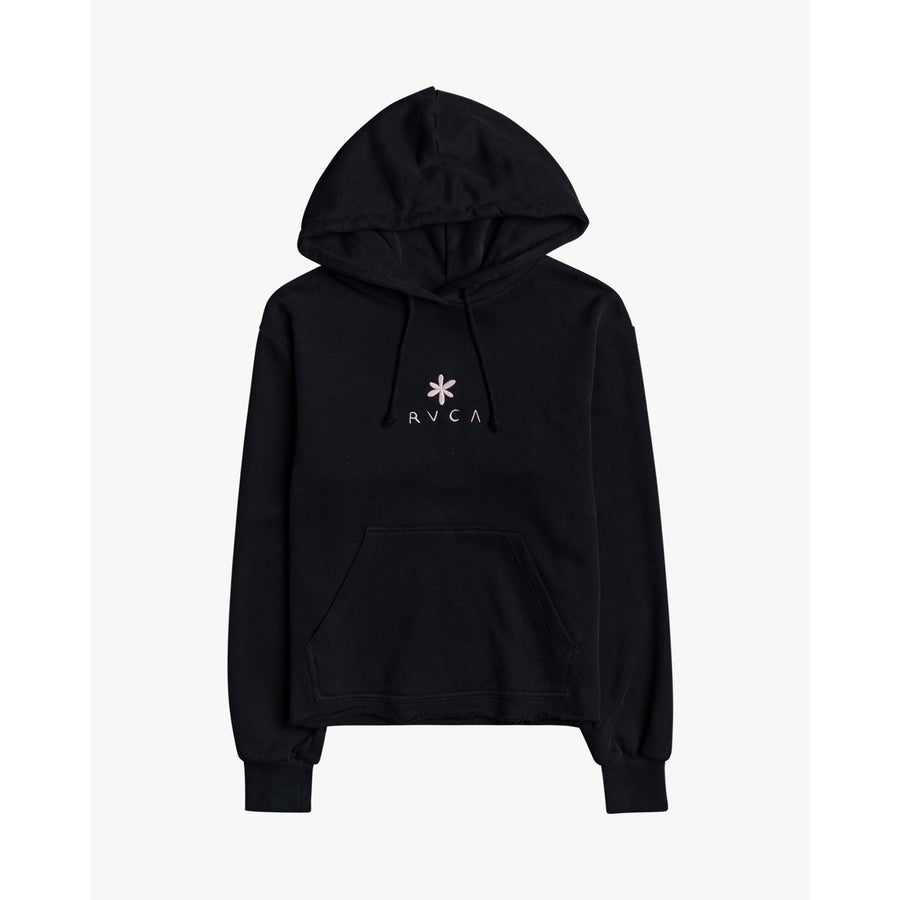 RVCA Twin Women's Hoodie - Faded Black