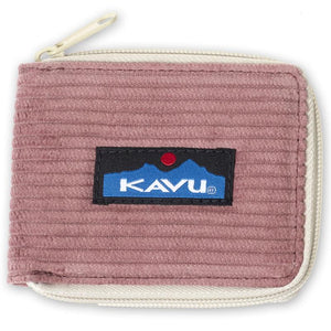 Kavu Outer Banks Corduroy Zip Wallet - Assorted Colours