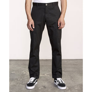 RVCA The Weekend Stretch Chino Pant - Black