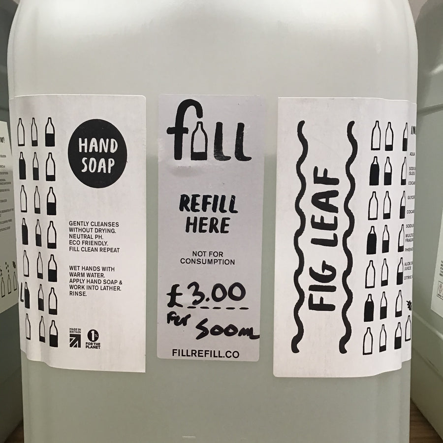 Fill Fig Leaf Hand Soap - REFILL 500ml
