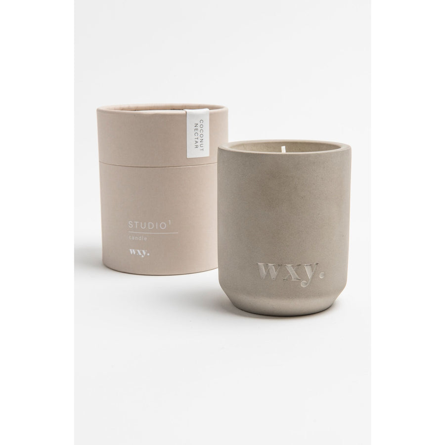 WXY Candles Studio 1 Coconut Nectar 100% Soy