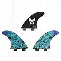 Captain Fin Dylan Graves Thruster Fin Set - Twin Tab