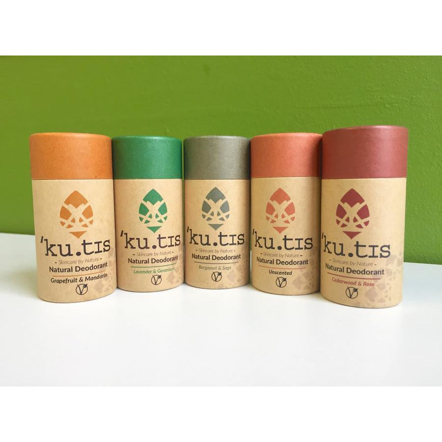 Kutis Vegan Natural Deodorant - Unscented