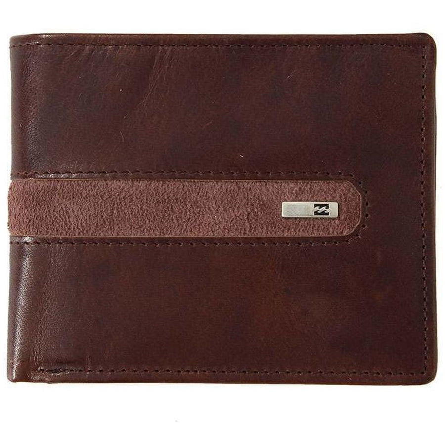 Billabong DBAH Leather Wallet - Choc